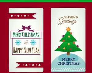 Christmas cards Photoshop brush