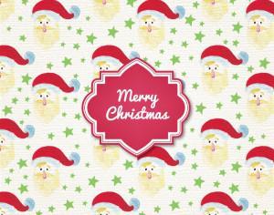 Christmas background Photoshop brush