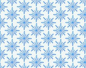Christmas pattern with snowflakes Photoshop brush