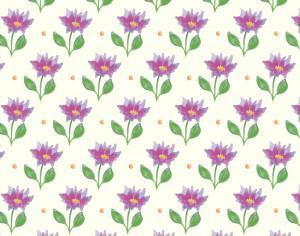 Spring pattern Photoshop brush