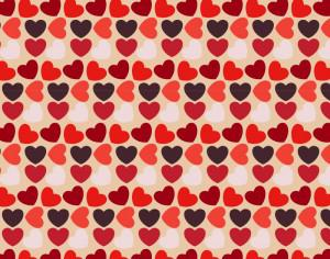 Love pattern Photoshop brush