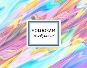 Hologram background Photoshop brush