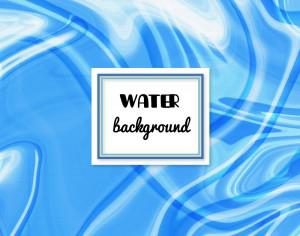 Water abstract background Photoshop brush
