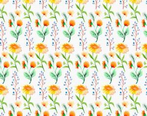 Watercolor flower background Photoshop brush
