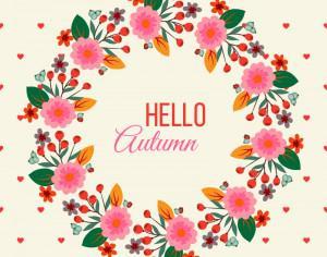 Floral Frame Illustration Photoshop brush