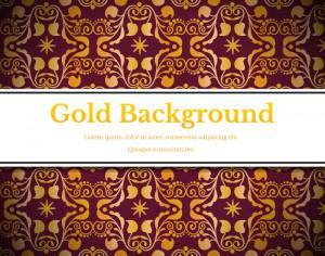 Royal gold backgrounds Photoshop brush