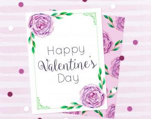 Beautiful Love Cards in Watercolor Style Photoshop brush