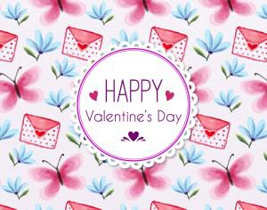 Valentine's Day Cute Pattern Photoshop brush