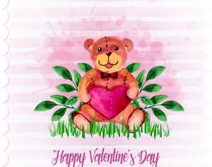 Cute Romantic Illustration Photoshop brush