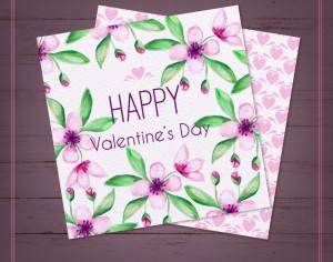 Valentine's Day Cards Photoshop brush