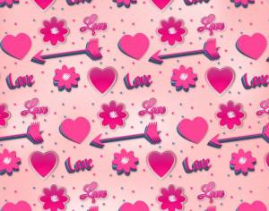 Romantic Pink Pattern Photoshop brush