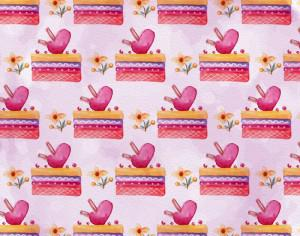 Cute Valentine's Day Pattern Photoshop brush