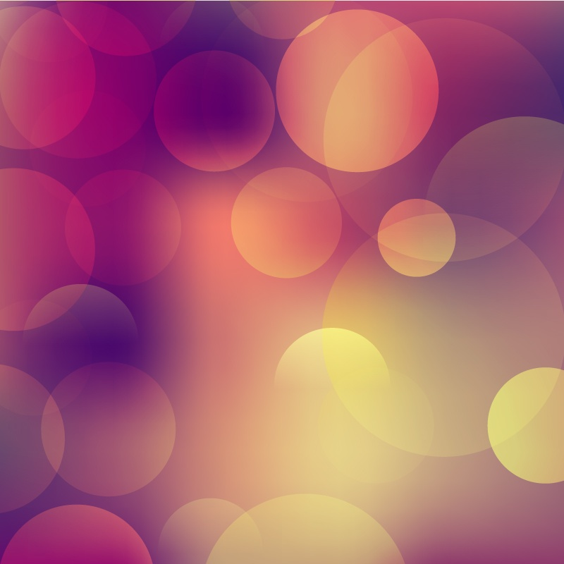 Bokeh illustration Photoshop brush