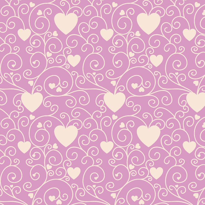 Love pattern with hearts Photoshop brush