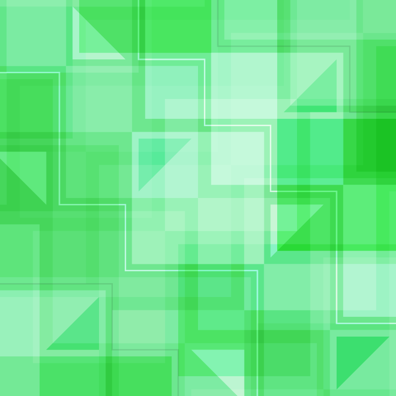 Green Squares and Triangles Photoshop brush