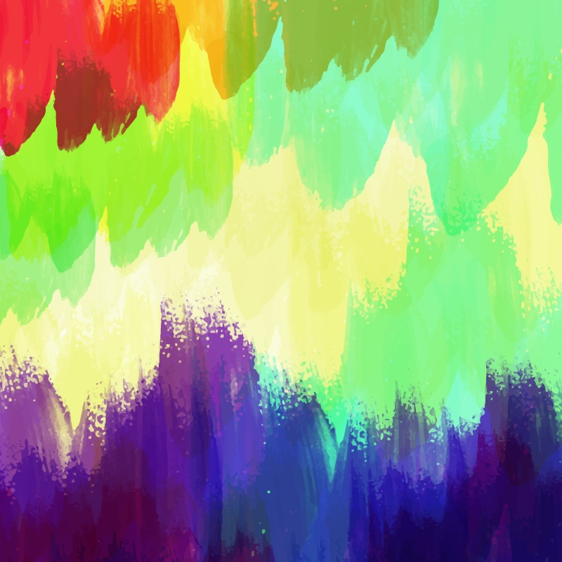 Watercolor illustration Photoshop brush