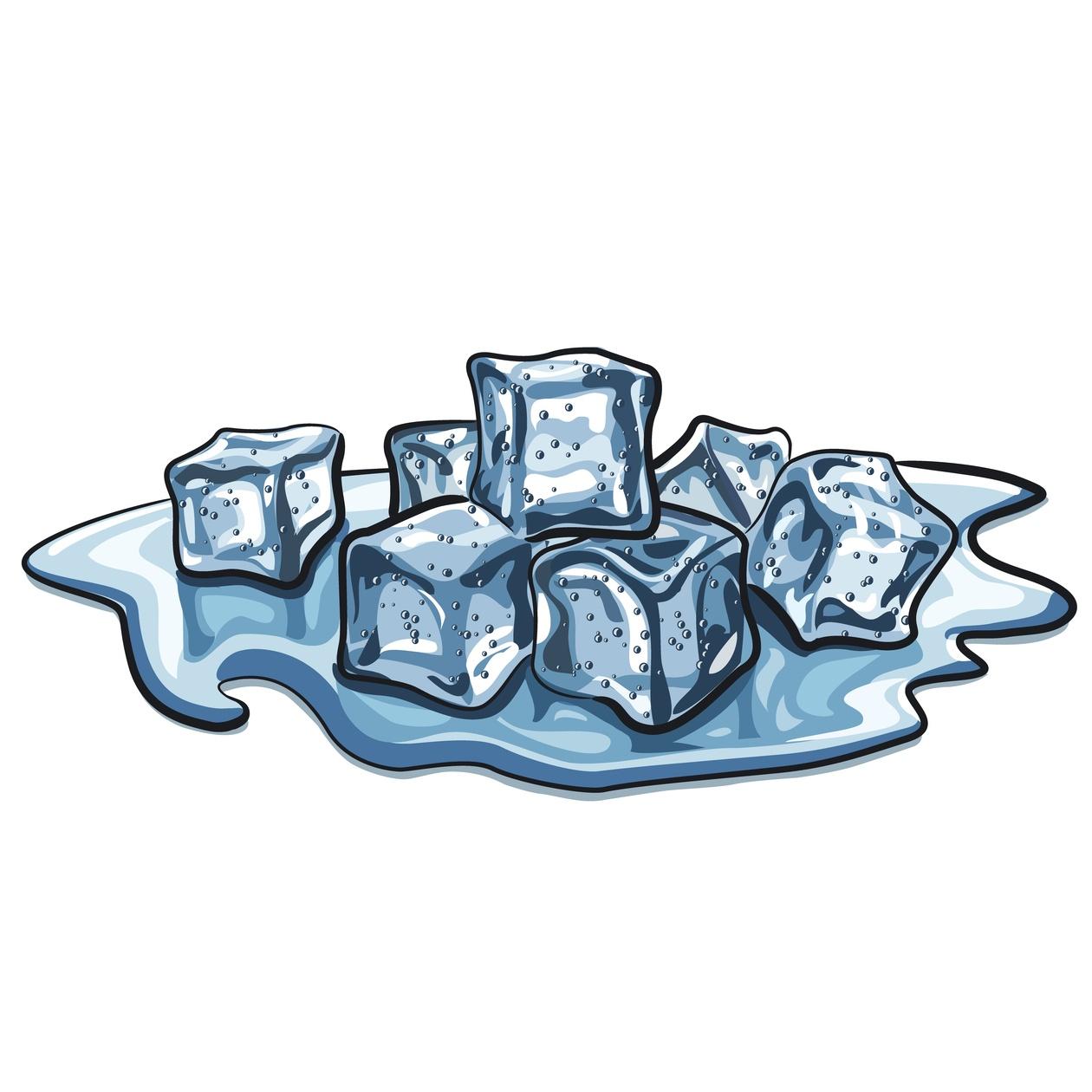 Ice Cubes Photoshop brush