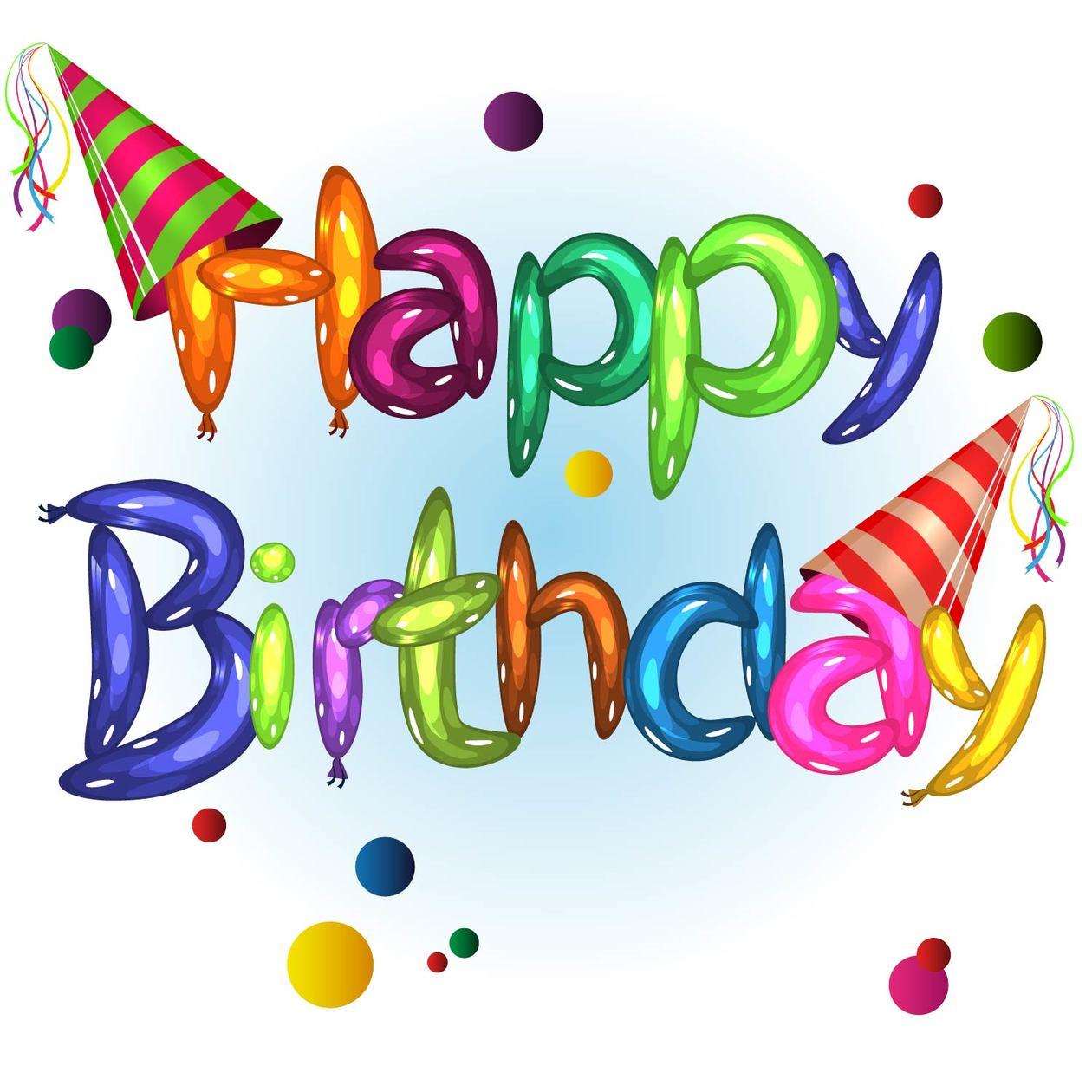Happy Birthday Photoshop brush