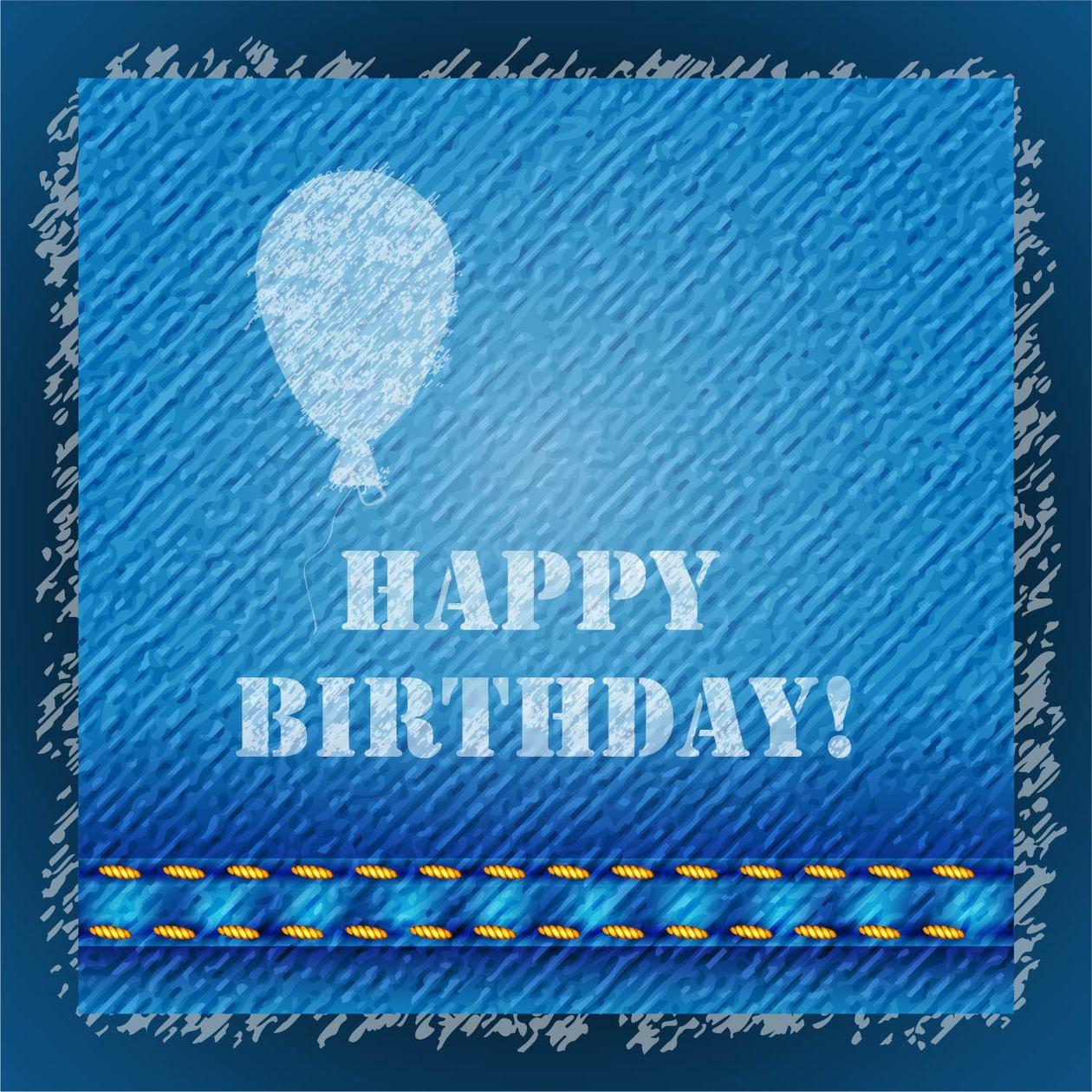 Happy birthday text Photoshop brush