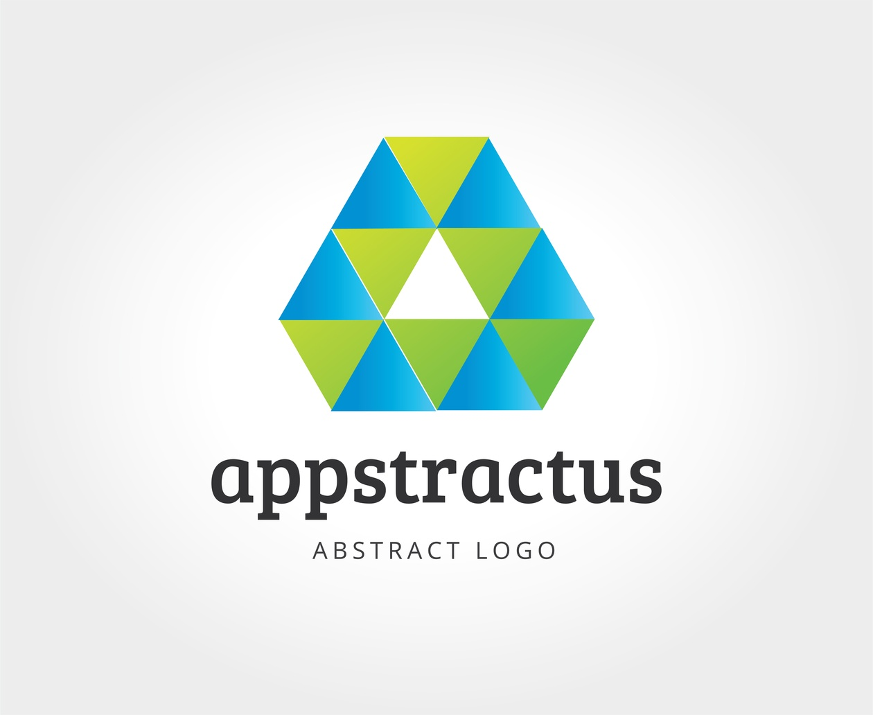 Abstract vector logo template for branding and design Photoshop brush