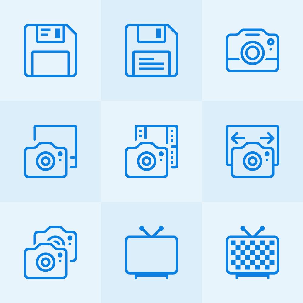 Lynny Icons - Mini Set 15 Photoshop brush