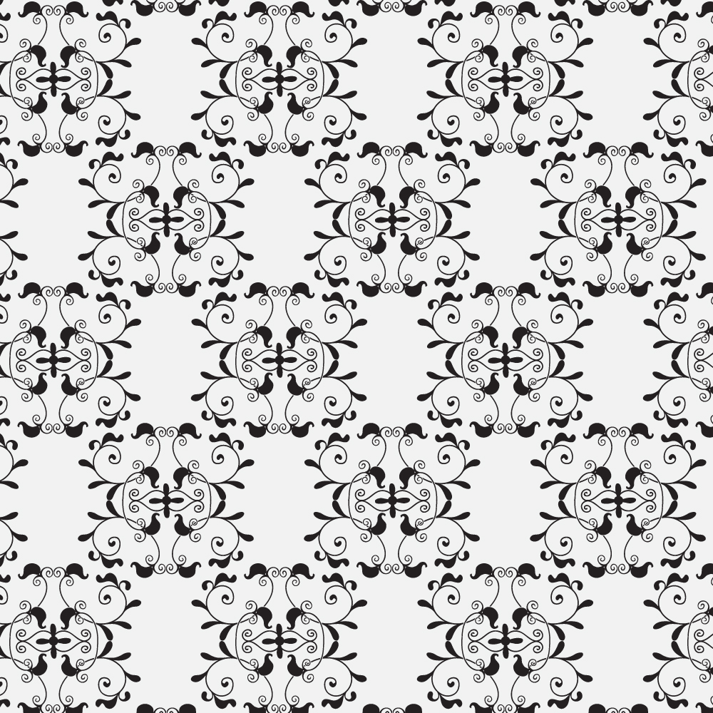 Damask seamless pattern  Photoshop brush