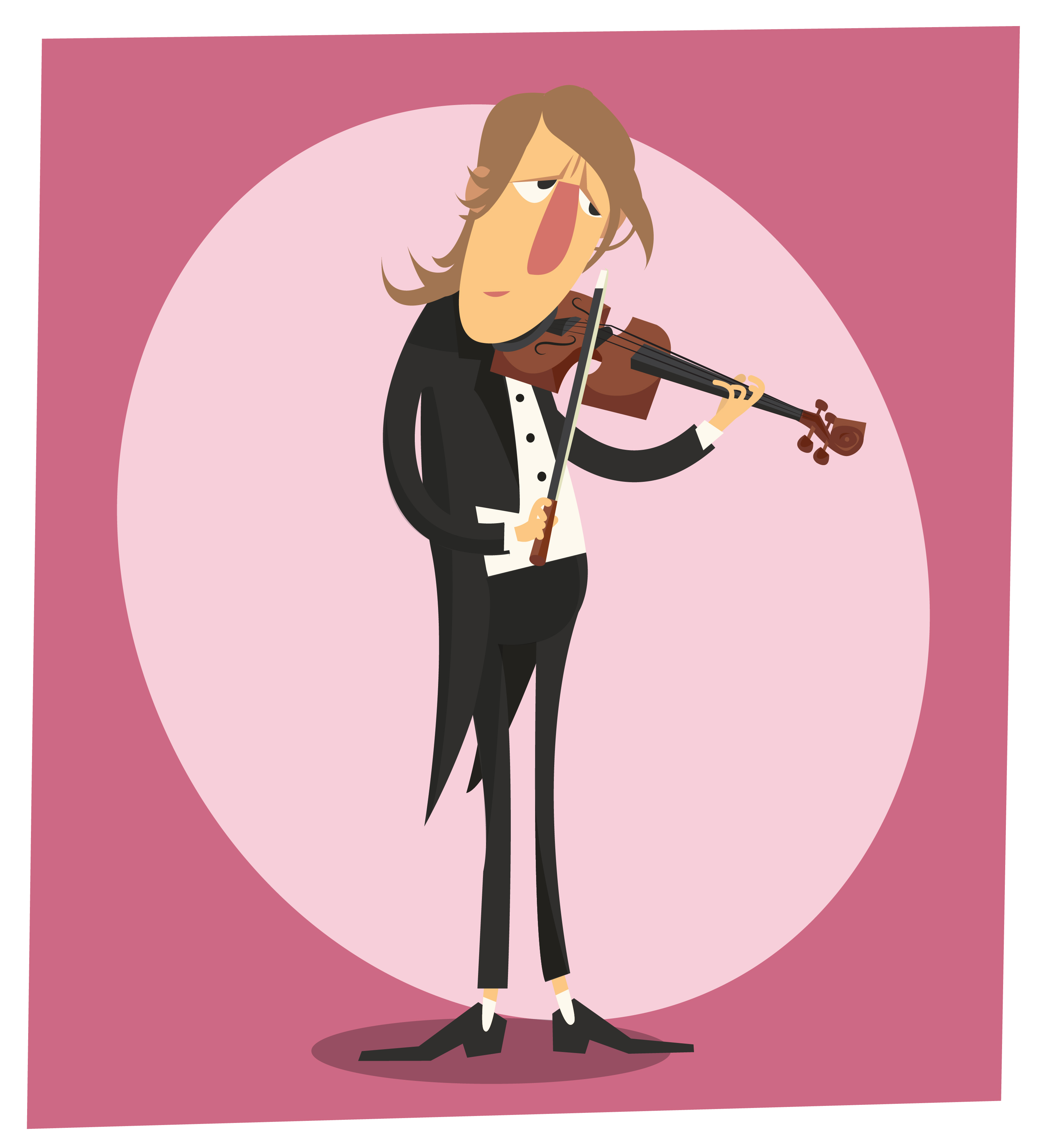 Music cartoon character vector illustration for design Photoshop brush