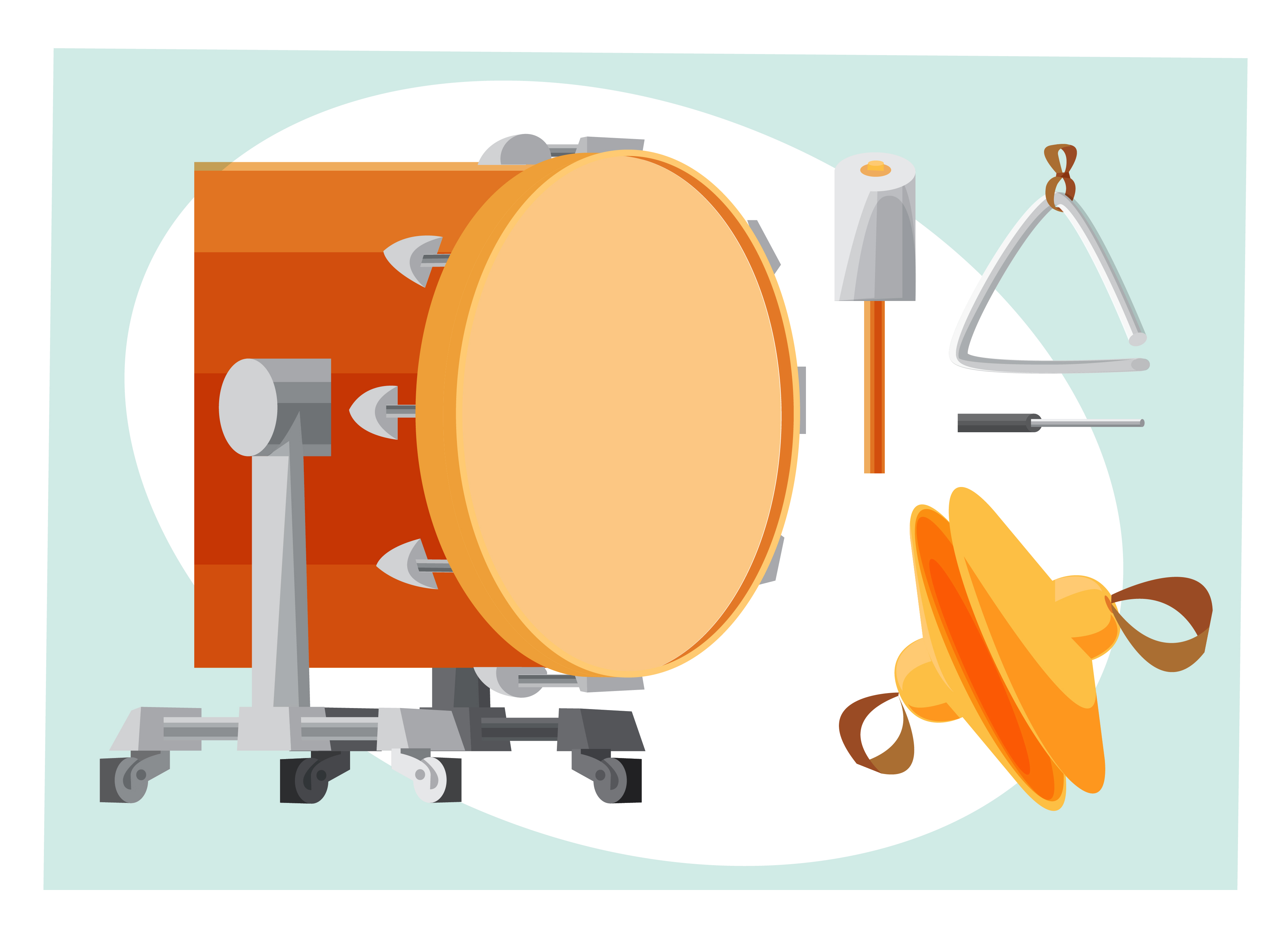 Music objects vector illustration for design Photoshop brush