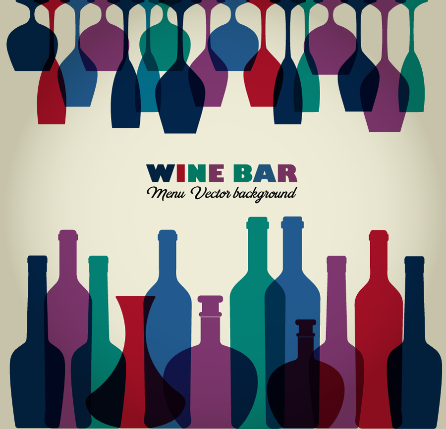 Wine abstract illustration Photoshop brush