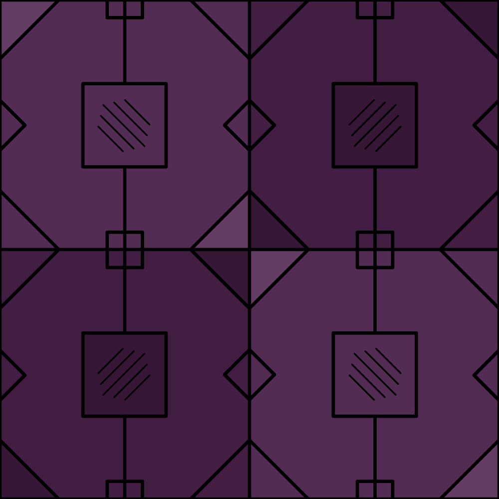 Purple Lines Pattern Photoshop brush