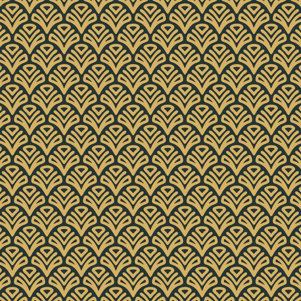 Roaring 1920s Fan style Pattern  Photoshop brush