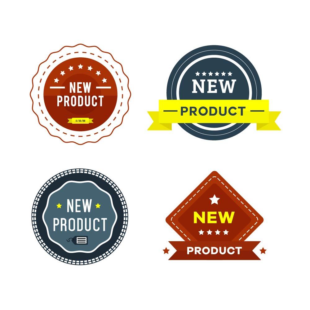 New Product Badges Photoshop brush