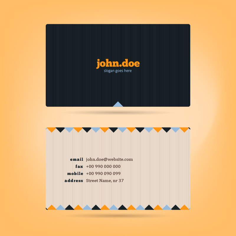 Vector Business Card Photoshop brush