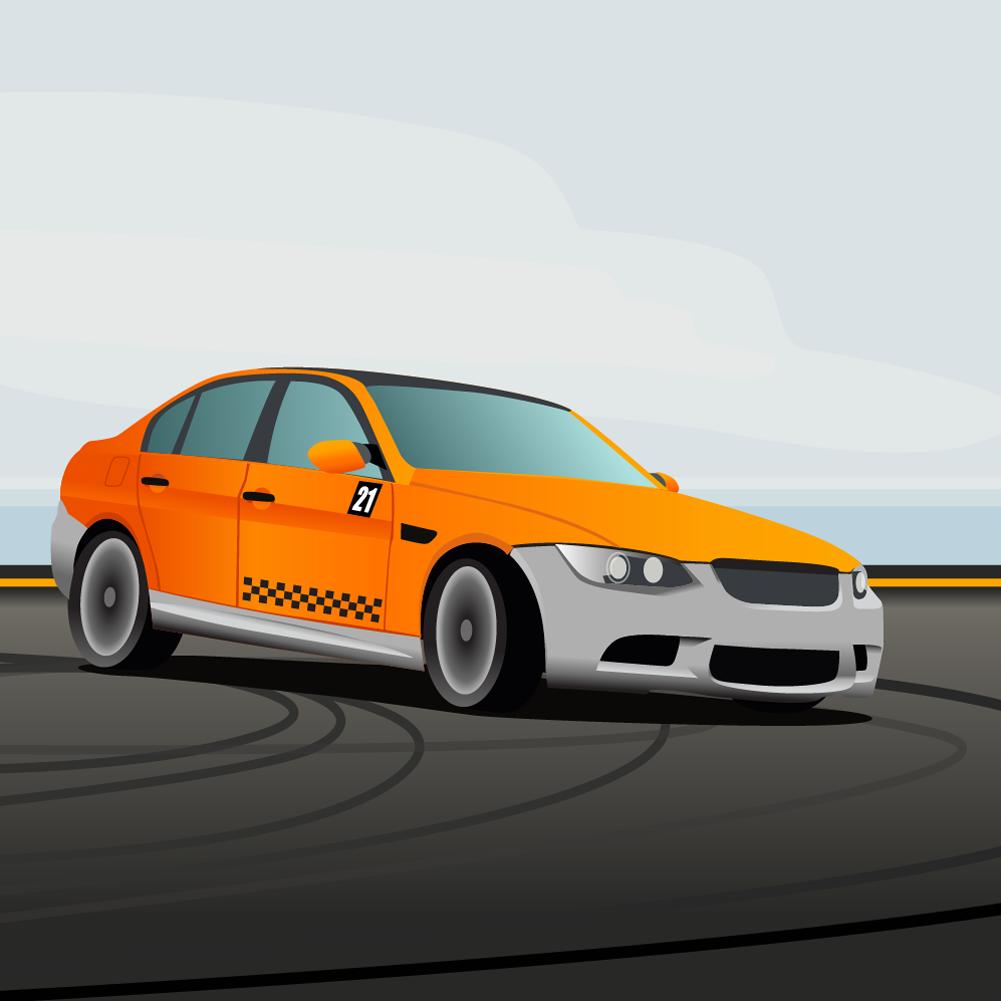 racing car Photoshop brush
