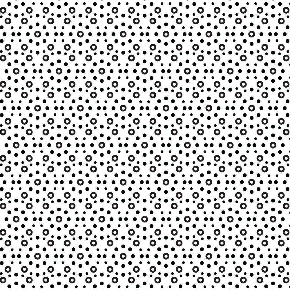 Circular Black and White Pattern Photoshop brush