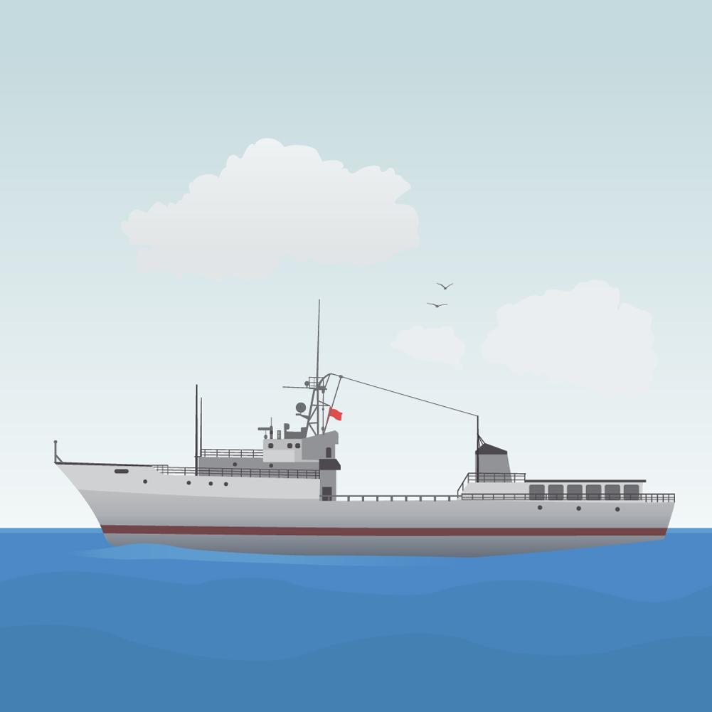 ship Photoshop brush