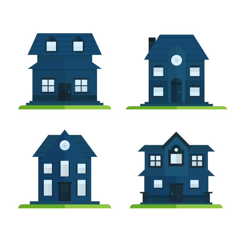 House Icons Photoshop brush