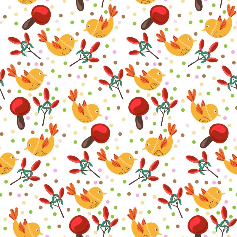 Nature Bird Illustration Photoshop brush